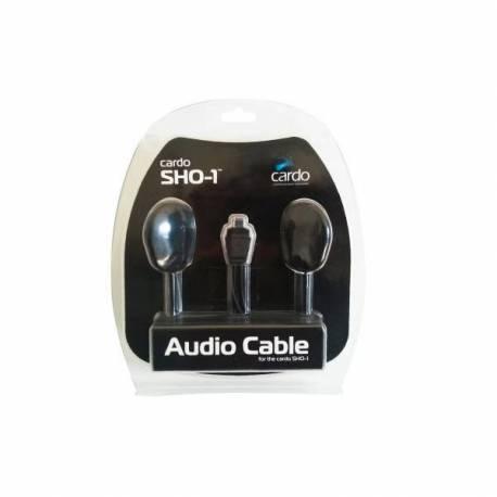Kit audio avec double écouteur pour Scala Rider SHO-1.