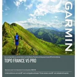 Cartographie TOPO V5 Pro pour GPS GARMIN (FRANCE)
