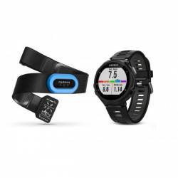 GPS watch Garmin Forerunner 735 XT with HRM - Black and grey
