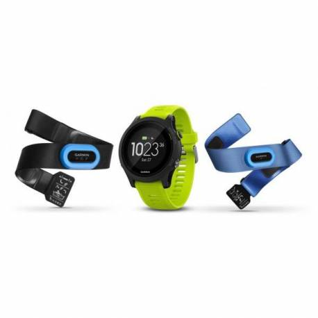 Montre GPS Garmin Forerunner 935 avec HRM - bracelet jaune
