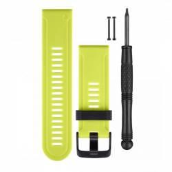 Bracelet Silicone pour Montre GPS Garmin Fenix 3 - Vert