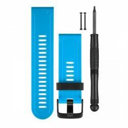 Bracelet Silicone pour Montre GPS Garmin Fenix 3 - Bleu