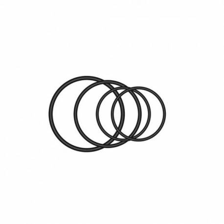 Elastic bands to support rear light Garmin Varia