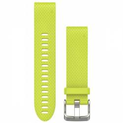 Bracelet Silicone QuickFit for Watch Garmin Fenix 5S - Yellow