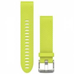 Bracelet Silicone QuickFit pour Montre Garmin Fenix 5S - Jaune