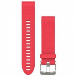 Bracelet Silicone QuickFit pour Montre Garmin Fenix 5S - Rose