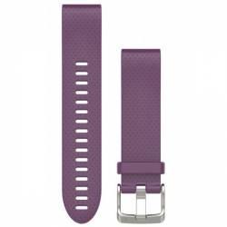 Bracelet Silicone QuickFit pour Montre Garmin Fenix 5S - Violet