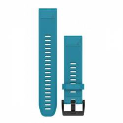 Bracelet Silicone QuickFit pour Montre Garmin Fenix 5S - Bleu (22mm)