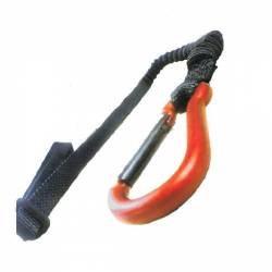 Strap/carabiner trigger airbag - AllShot