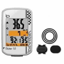 GPS Vélo Bryton Rider 10C - Blanc