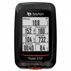 GPS Vélo Bryton Rider 310 C (avec capteur de cadence)