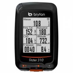 GPS Vélo Bryton Rider 310 C (avec capteur cardio)