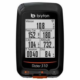 GPS Vélo Bryton Rider 310 T (avec capteur de cadence & Cardio)