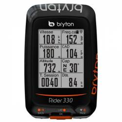 GPS Vélo Bryton Rider 330 C (avec capteur de cadence)