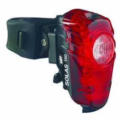 Rear light red LED SOLAS 150 (USB)