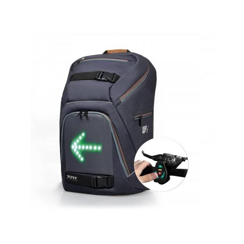 sac dos avec panneau led de directions accessoires moto high tech. Black Bedroom Furniture Sets. Home Design Ideas