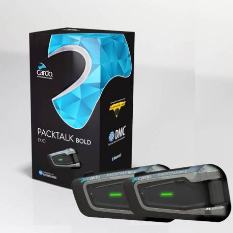 Intercom Cardo Scala Rider Pack Talk Bold DUO
