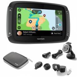 GPS TomTom Rider 550 Pack Premium(Carte Monde)