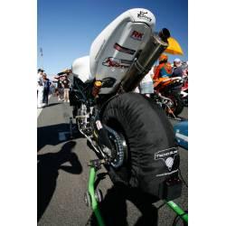 Couvertures chauffantes moto