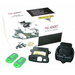 Alarm plate for motorcycles, scooter, quad TG1005