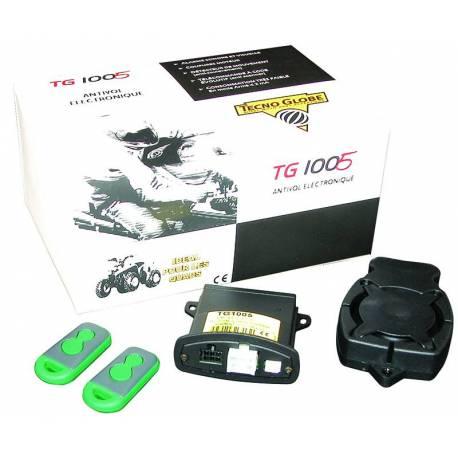 Alarme plate pour motos, scooter, quad TG1005