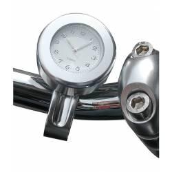 Guiador impermeável moto relógio