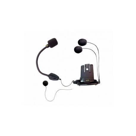 Support : double micro, 2 écouteurs - Scala Q1 & Q3