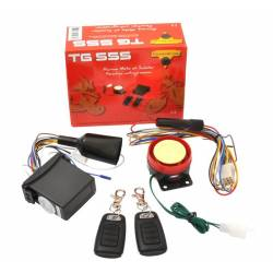 Motorcycle alarm & Anti Bike Jacking TG555