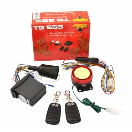 Alarma moto & bicicleta de Anti secuestro TG555