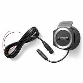 Support alimenté et câble pour TomTom Rider 40 & 400.