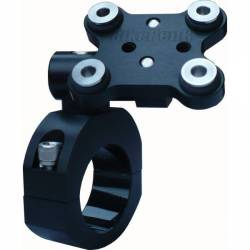 SUPPORTS GPS NOIR (guidon 25 mm)