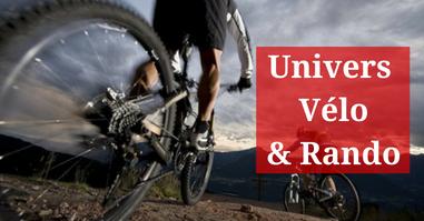 Univers accessoires et équipement Cycliste VTT et randonnée